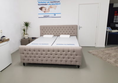 bed showroom correctslapen