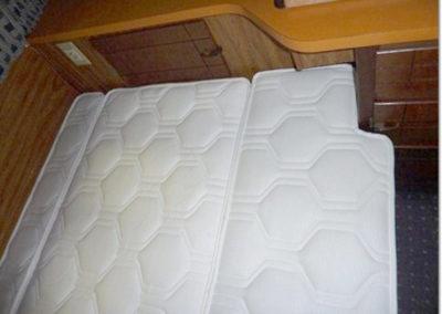 Mobile home matras op maat